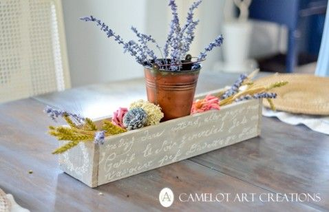 flowers, flower, lavender, bucket, potpourri, box, pallet, pallets, dining, room, table, kitchen