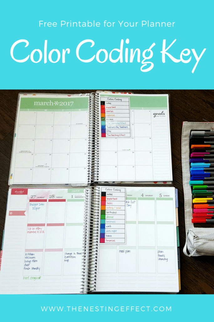 Color Coding Cards for Your Planner & Dinner Menu is part of Planner Organization Color Code - Download free printables for color coding your planner and meal planning  Organize your planning once and for all with color coding keys  This brightly colored dinner menu will look great on your refrigerator