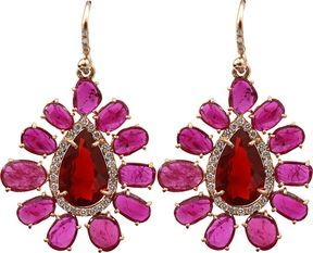 shopstyle.com: IRENE NEUWIRTH JEWELRY Rose Cut Ruby Earrings
