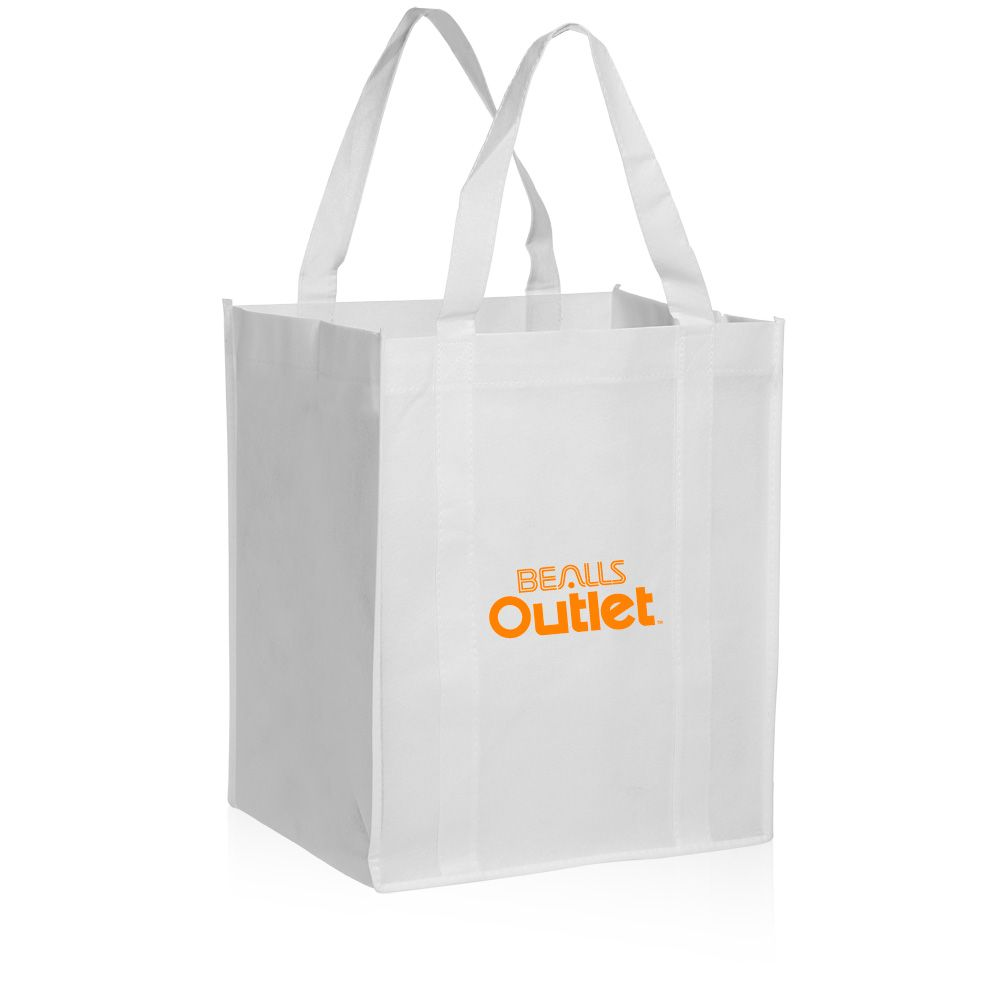 Custom Non Woven Polypropylene Reusable Grocery Bags In Bulk Whole Prices Our Promotional Tote Can Be Printed With Your Logo Or Graphic