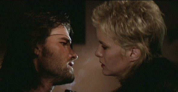 ESCAPE FROM NEW YORK with Season Hubley and Kurt Russell ...