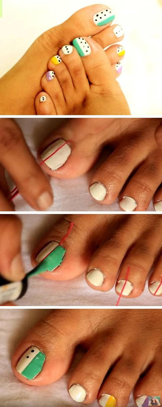 18 Cute Toenail Designs For 2017 With Images Toe Nail Designs