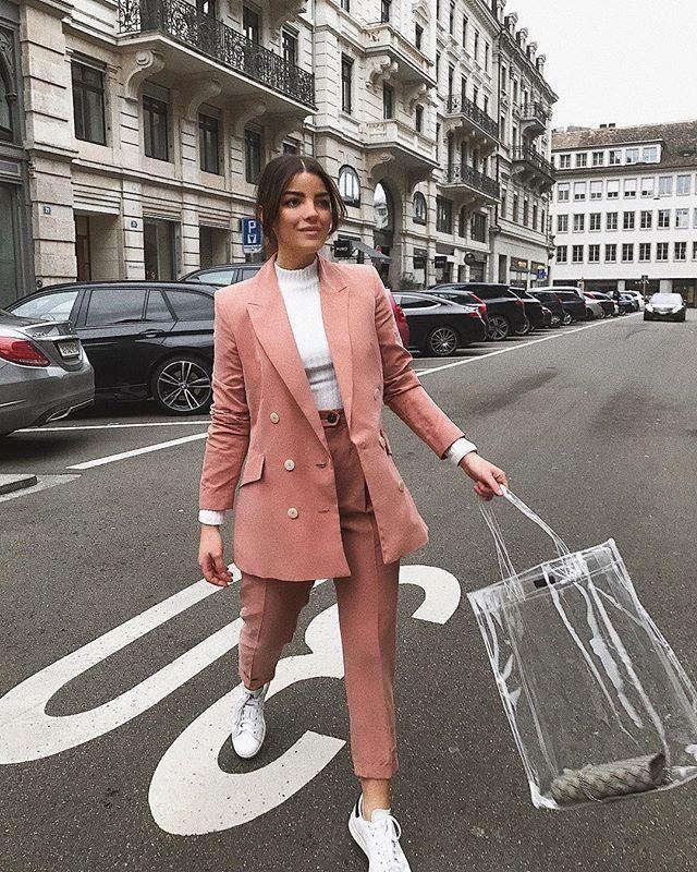 Büro lässig Outfit-Ideen für Frauen #officeoutfit