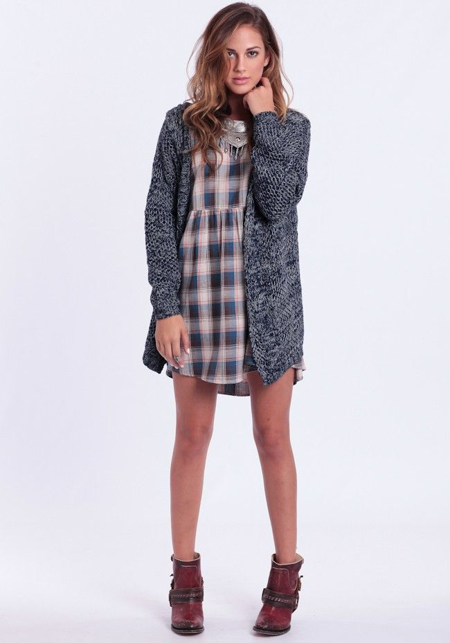Direct Hit Hooded Cardigan By MINKPINK
