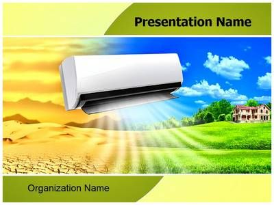 Air Conditioning Powerpoint Template is one of the best PowerPoint - summer powerpoint template