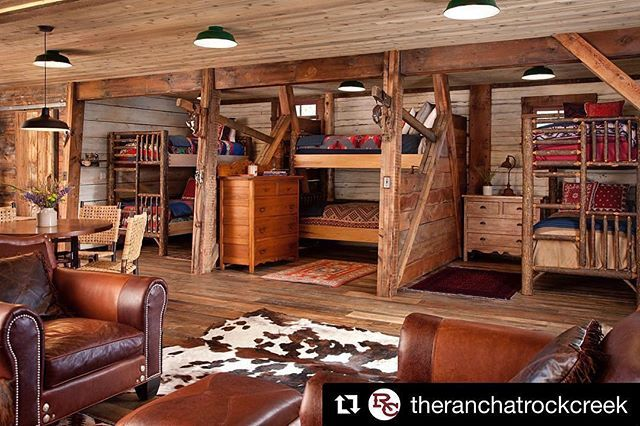 Old Hickory Bunk Beds In This Repost From Theranchatrockcreek