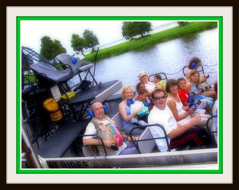 Boggy Creek Airboat Ride in Orlando Fl Airboat rides