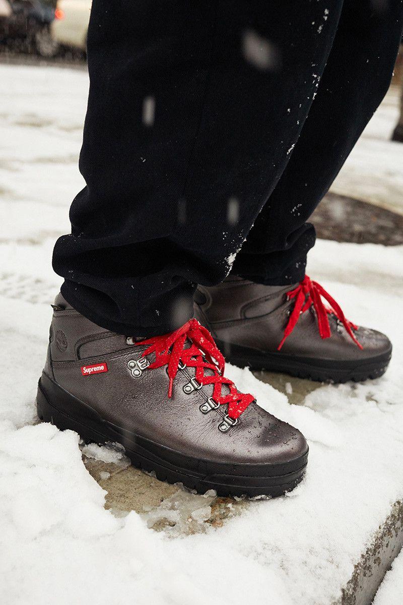 Timberland x Supreme World Hiker Front