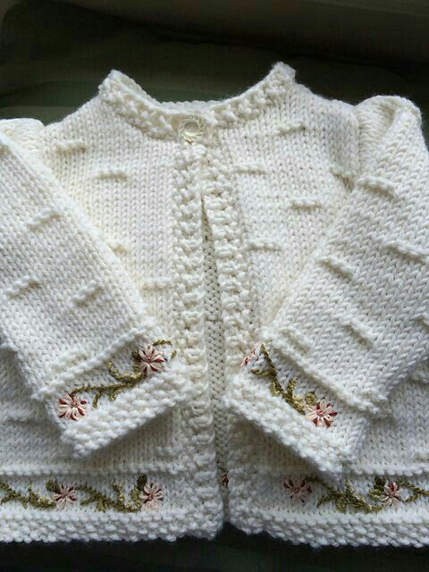 Bebés Ropa Pinterest De Embroide Ravelry Luluknitty's IqE7wnT1T