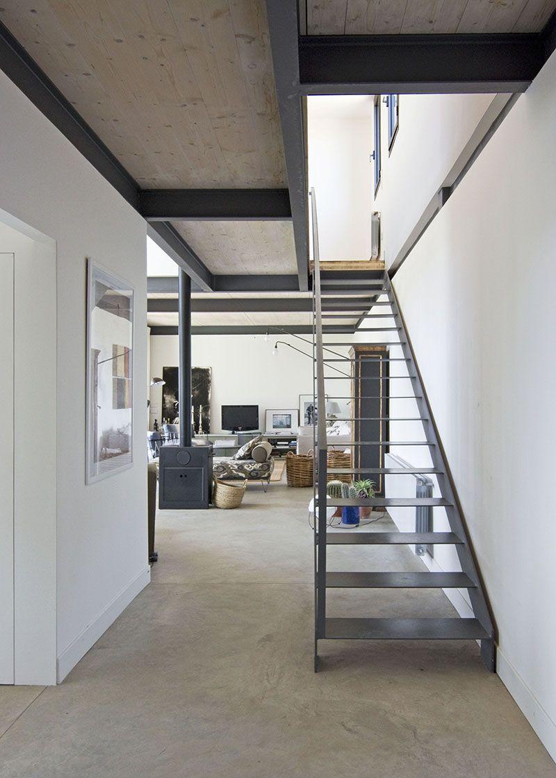 Esta casa de campo para vivir, valga la redundancia, es un ejemplo ...