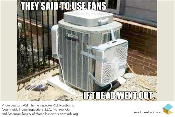 They Said To Use Fans If The A C Went Out Hvac Hacks Hvac Air