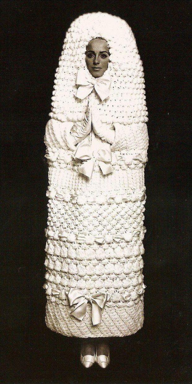 Yves Saint Laurent Wedding Dress 1960s Une Mariee Habillee