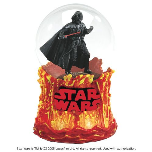 star wars snow globes