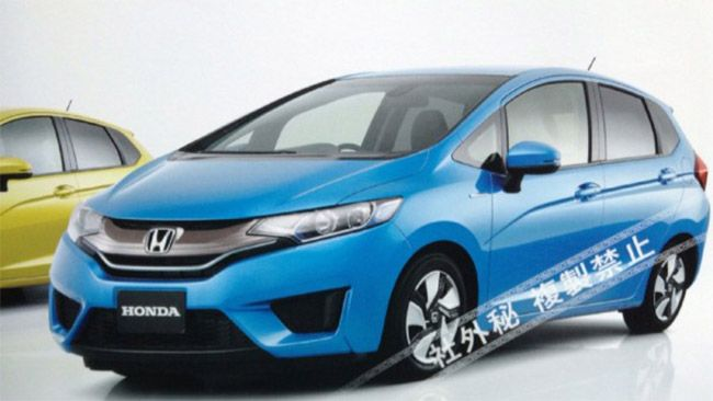 New 2014 Honda Jazz to launch in Japan by September 2013. #HondaCars