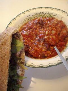 Tomat- och linsgryta (två-i-en)
