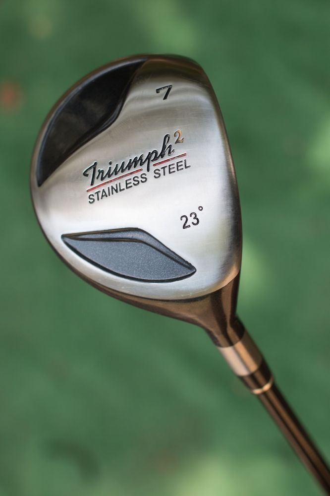 Triumph 23 Degree 7 Wood Custom Built Fairway Wood Used Golf Club Golf Clubs Golf Wood