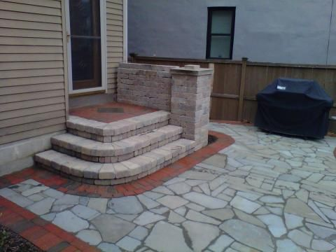 Stone Steps To Patio   Google Search