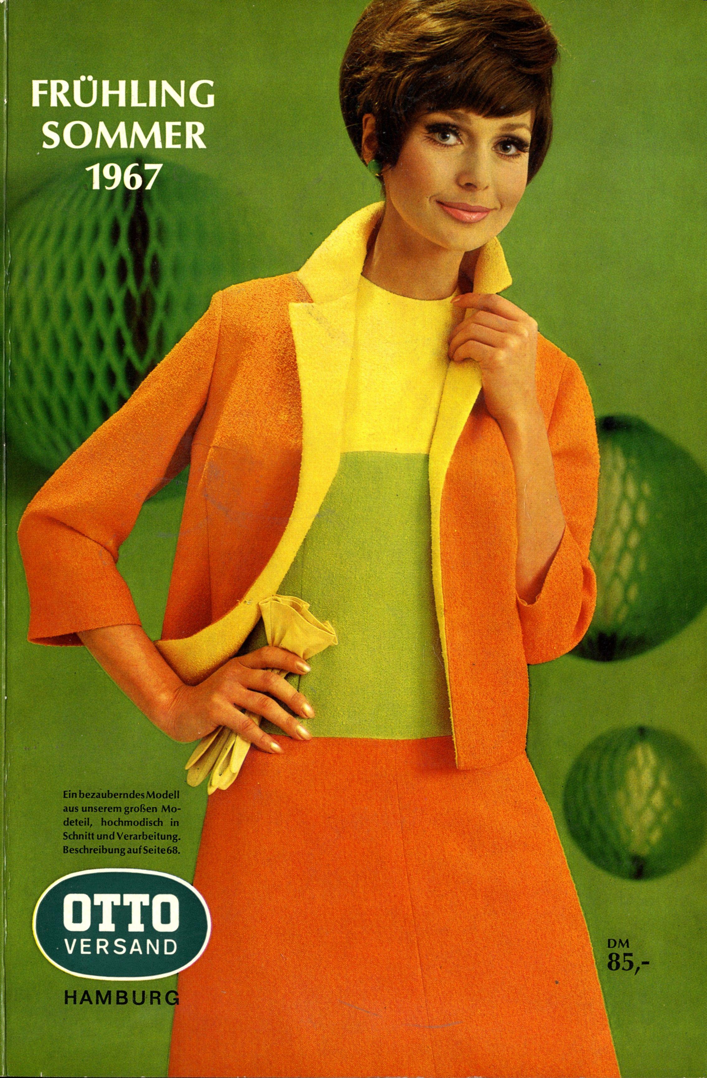 German Catalog Cover, Summer 1967 Modegeschichte, Mode