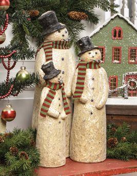 top hat snowmen schneem nner weihnachtlich t pfern. Black Bedroom Furniture Sets. Home Design Ideas