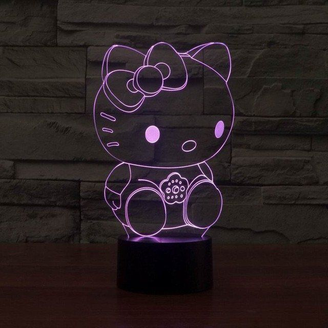 Hello Kitty 3D LED Light - FREE Shipping for a limited time!