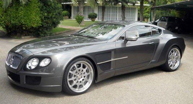 Rolls Royce Phantom One Off Prototype Is An Aston Flavored Bentley Continental Gt Carscoops