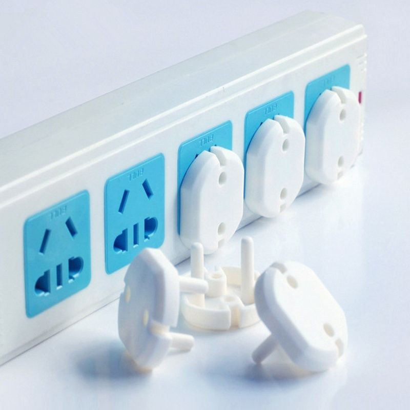 10X EU Power Socket Electrical Outlet Baby Safety Guard Protection Anti Electric