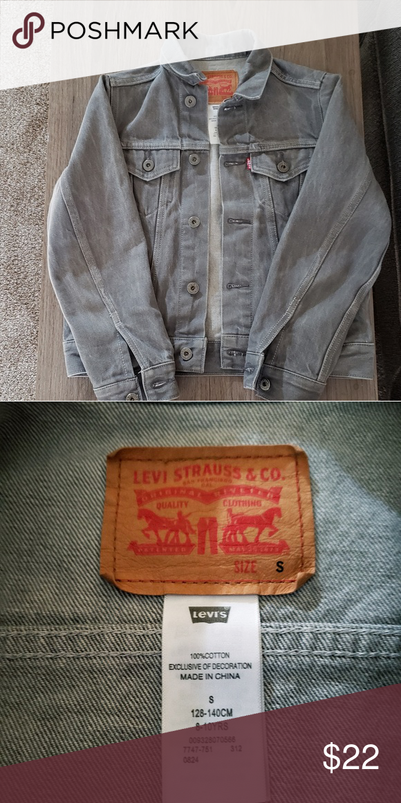 07378015abd0 Boys Levi s Jean Jacket Perfect Condition. 8-10 years. Size Small ...