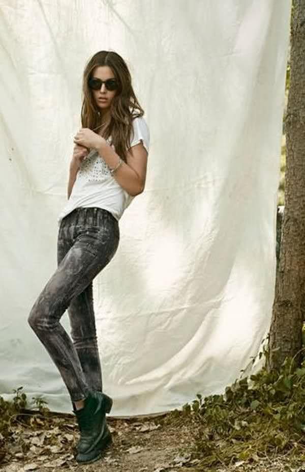 jeans rocker style