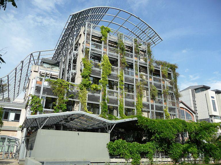 Les immeubles v g talis s autour du jardin biopark paris for Autour du jardin
