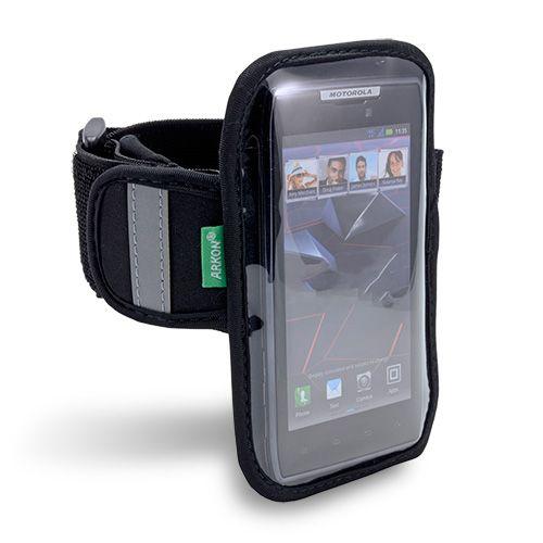 [Arkon XXL-ARMBAND] Smartphone Sports & Workout Armband for Phones With Screens up to 4.8 in. - Galaxy Nexus, Galaxy S II, Droid RAZR, RAZR MAXX, HTC Vivid, Sensation XL