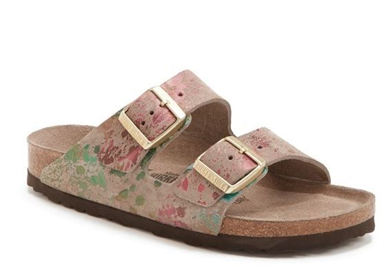 6a6db14d546 Birkenstock Arizona Floral Printed Sandals | Shoes for NOW | Floral ...