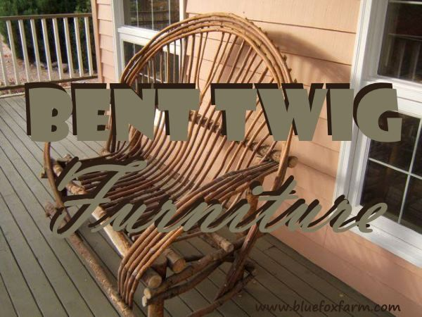 Bent Twig Furniture - make your own rustic chairs and benches