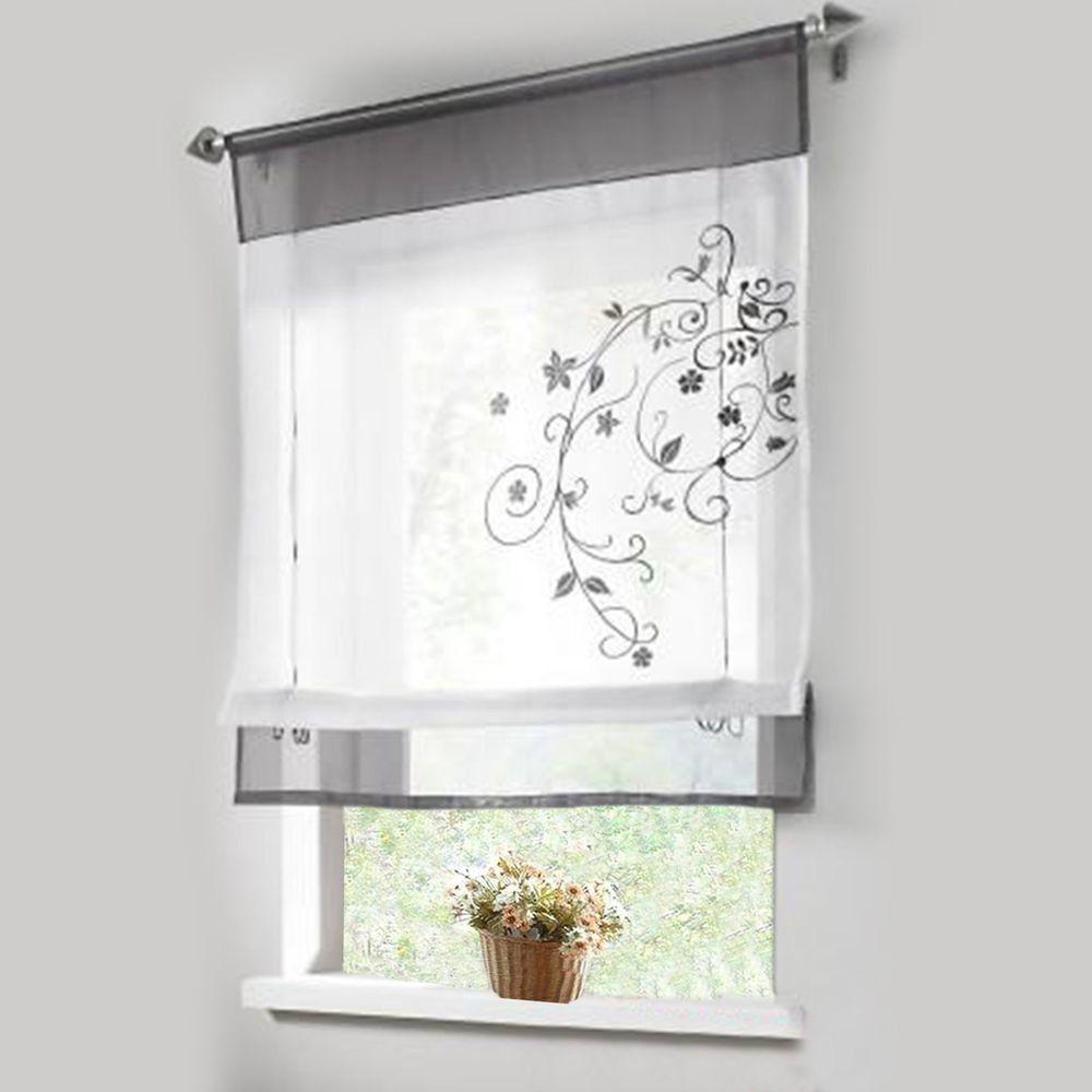 Tips & Ideas for Choosing Bathroom Window Curtains (WITH PHOTOS ...