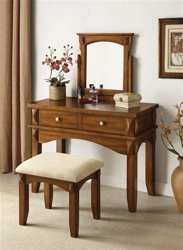 Http Www Vanitytableshop Com Aldora Rustic Oak Makeup Vanity Table Set P Ac90036 Htm Bedroom Vanity Set Vanity Table Set Bedroom Makeup Vanity