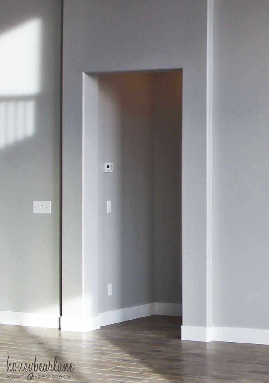 untrimmed doorway & DIY Doorway Trim   House pezcame.com