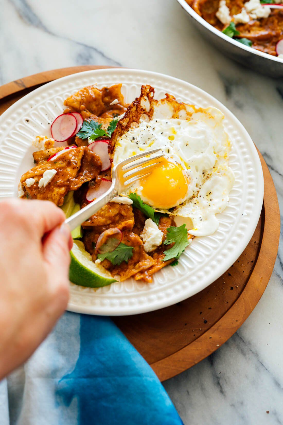 Chilaquiles rojos recipe with images mexican food