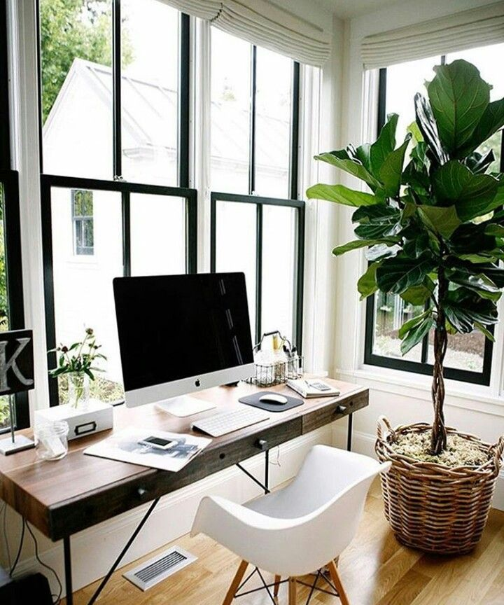 Small Officedesk Decorating: Pin De Karen Pizarro En House En 2019