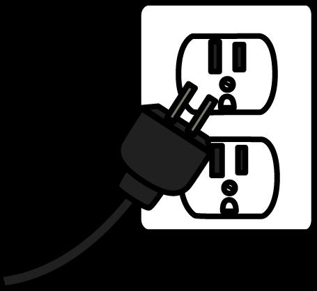 Electrical Plug Clip Art Electrical Plug Image Clip Art Cartoon Clip Art Black And White Cartoon