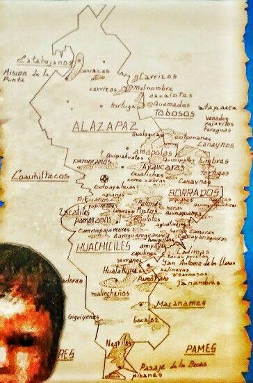 Mapa De Tribus Indigenas Originarias De Nuevo Leon Mexico Mapas Monterrey Nuevo Leon Nuevas
