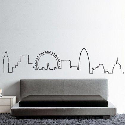 London Skyline TattooLondon SilhouetteLondon