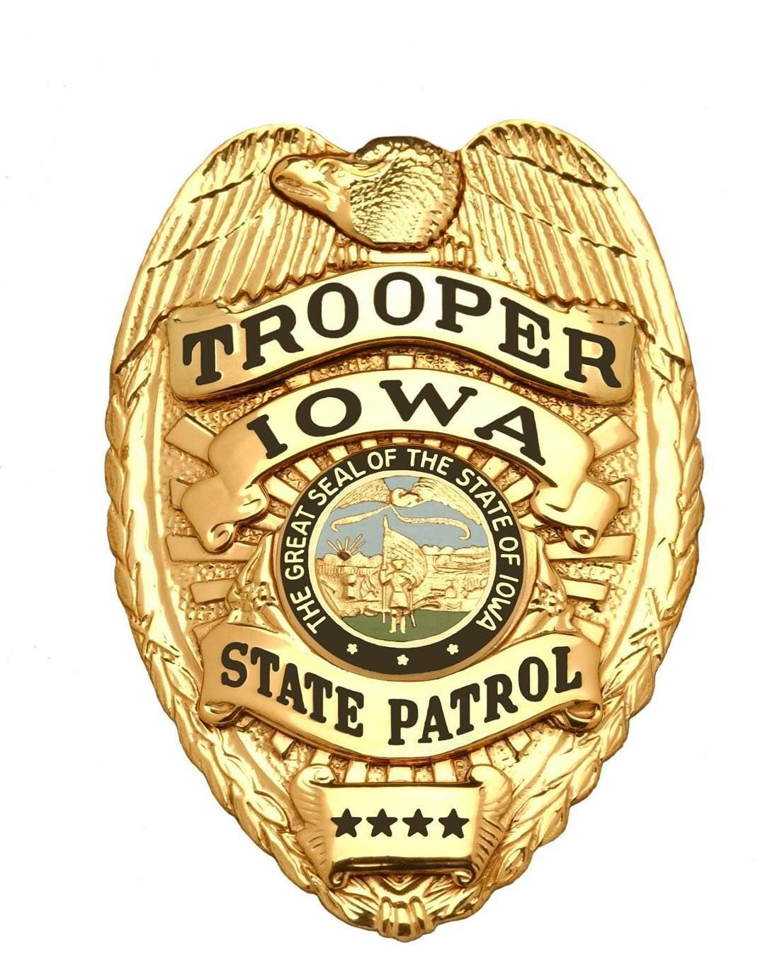 Pin by Larry Miller on IA Police badge, Fire badge, Badge