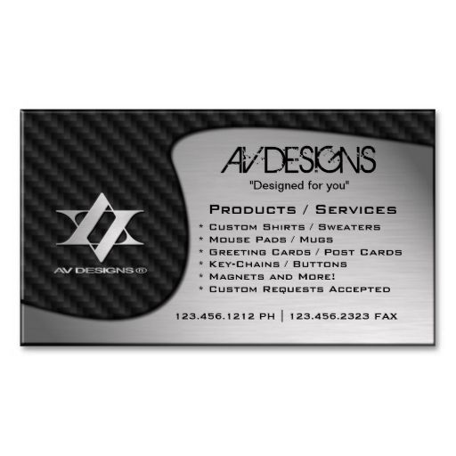 Yin yang abstract carbon brushed aluminum business card yin yang yin yang abstract carbon brushed aluminum business cards make your own business card with this great design all you need is to add your info to this colourmoves