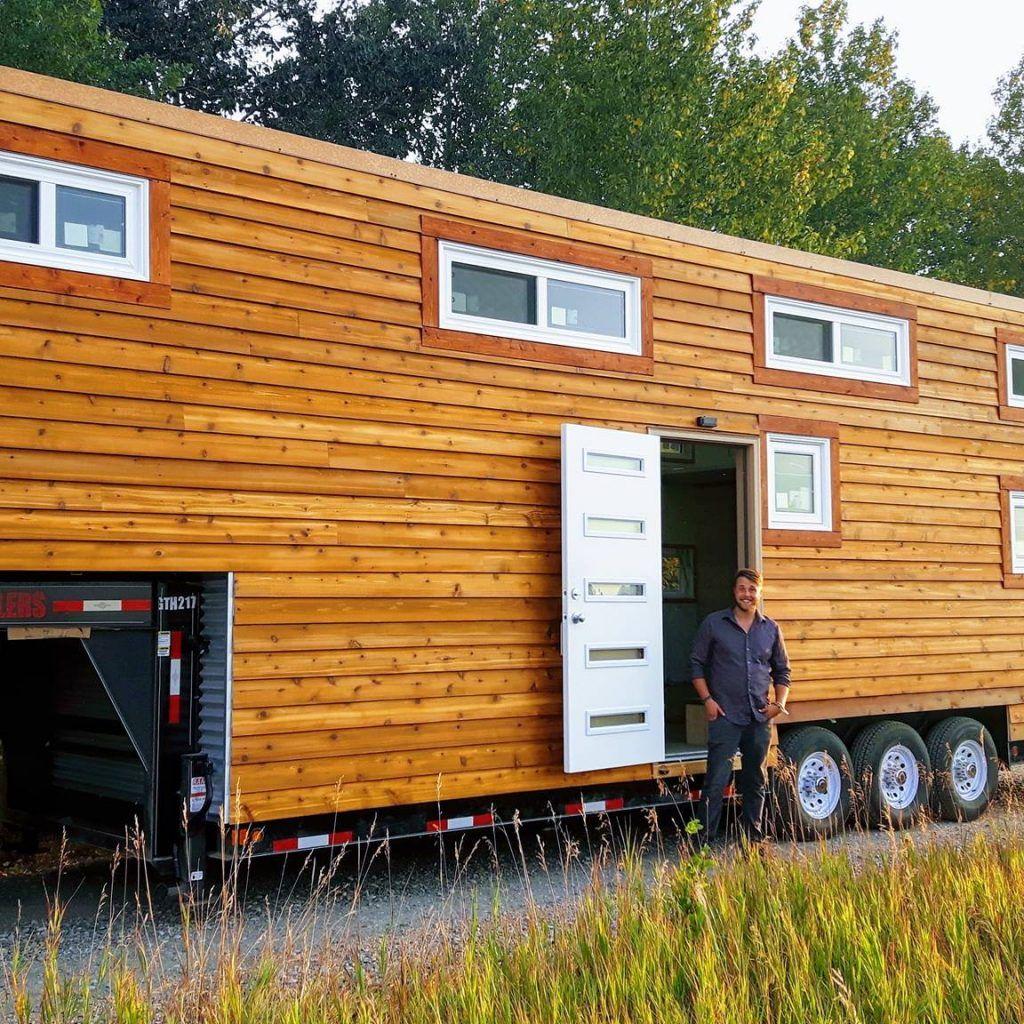 Brand new luxury high efficiency tiny home tiny house
