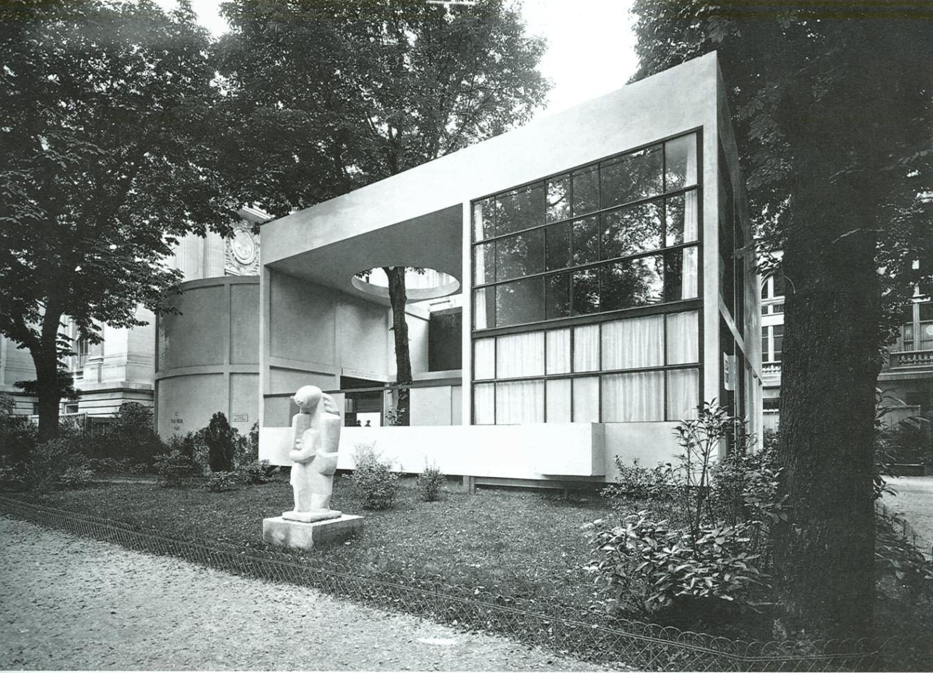 Le Corbusier Pavillon De LEsprit Nouveau Op Expo  Paris - Expo home design