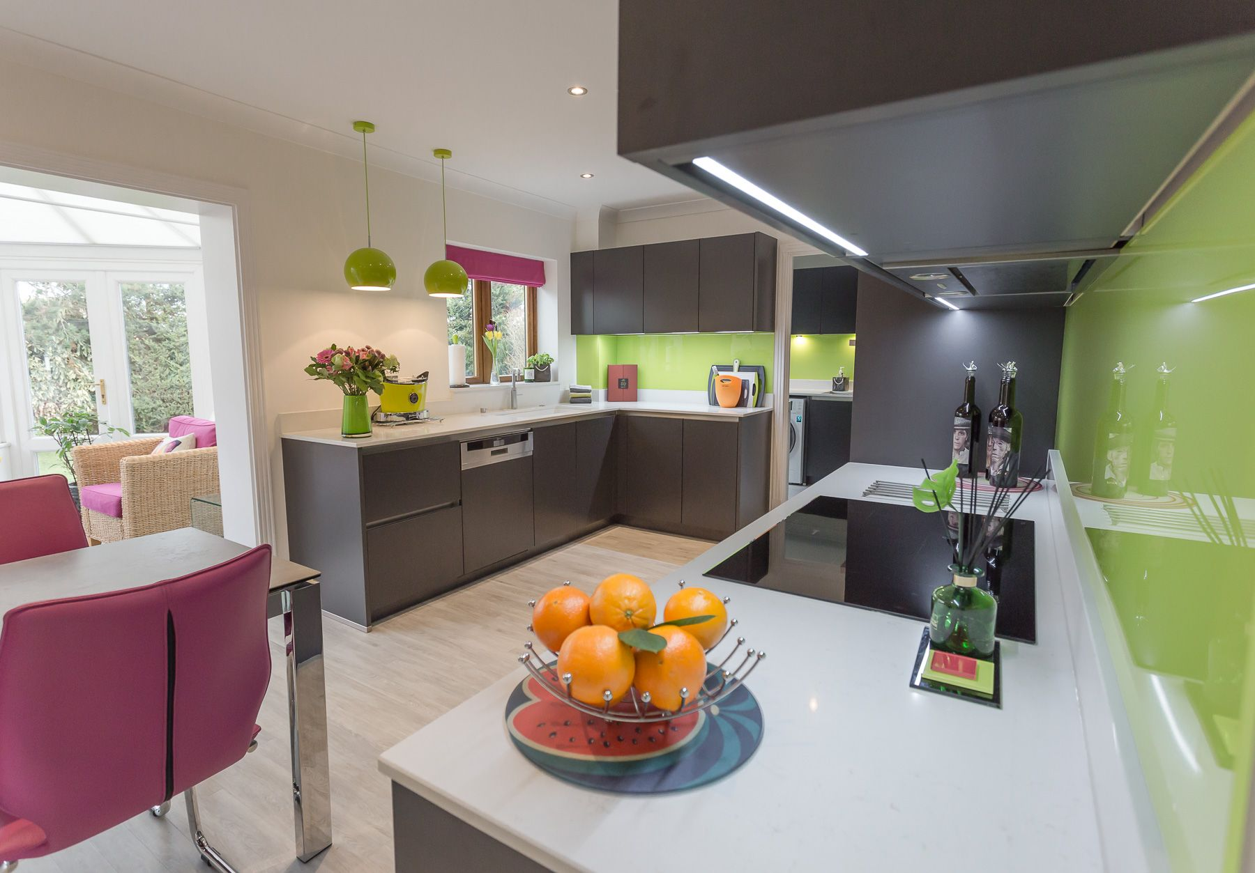 Our Bauformat handleless kitchen in Porto Carbon has been ...