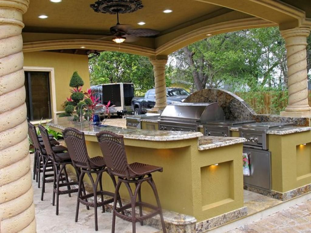 Uncategorized Covered Outdoor Kitchen Designs another important issue to take into consideration plan the outdoor kitchen at a maximum distance covered patio de