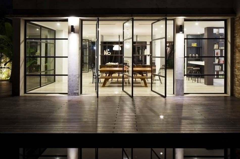 Connu Belle maison rénovée au design intérieur moderne et si minimaliste  OP85