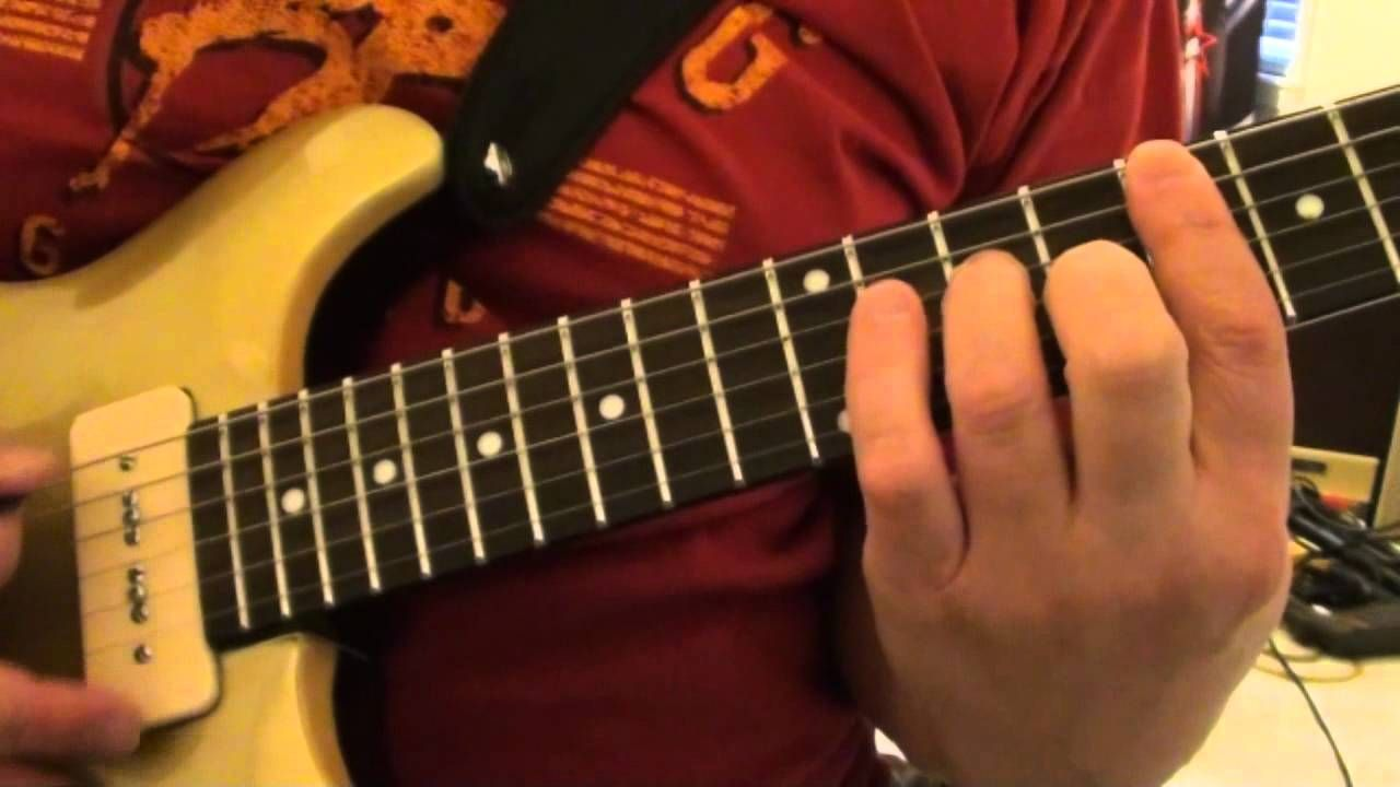 Keith Richards Riff - Brown Sugar Lesson