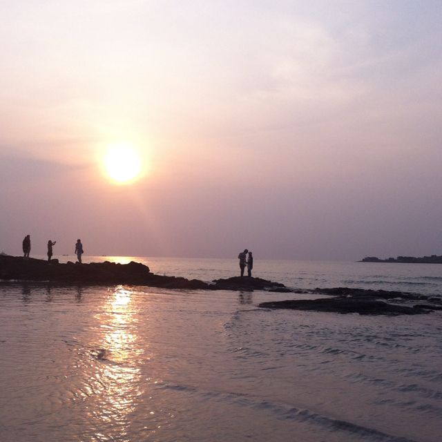 Jeju Island Beaches: Hyoupjae Beach @ Jeju Island 제주도 협재 해수욕장. 희고 고운 모래와 옥빛 물빛이