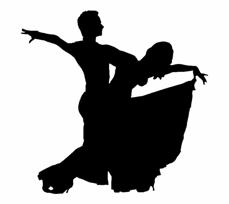 Download Dancer Clipart Dance Movement - Ballroom Dancer Silhouette ...